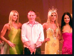The Mrs South Africa's and Philip Cox