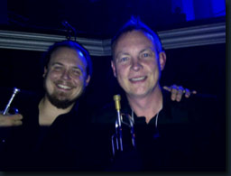 Bidvest Trumpeters, seriously big gig, one of the best of 2012. With David Sendef