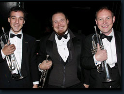 Starlight Classics Trumpet Section, Alex, David and Philip....superb week of pops